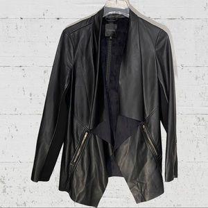 Dynamite faux leather jacket M